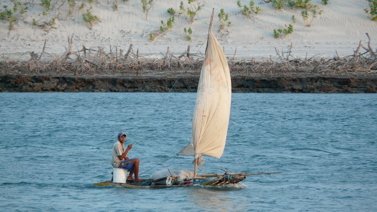 fisherman in  jericoacoara
